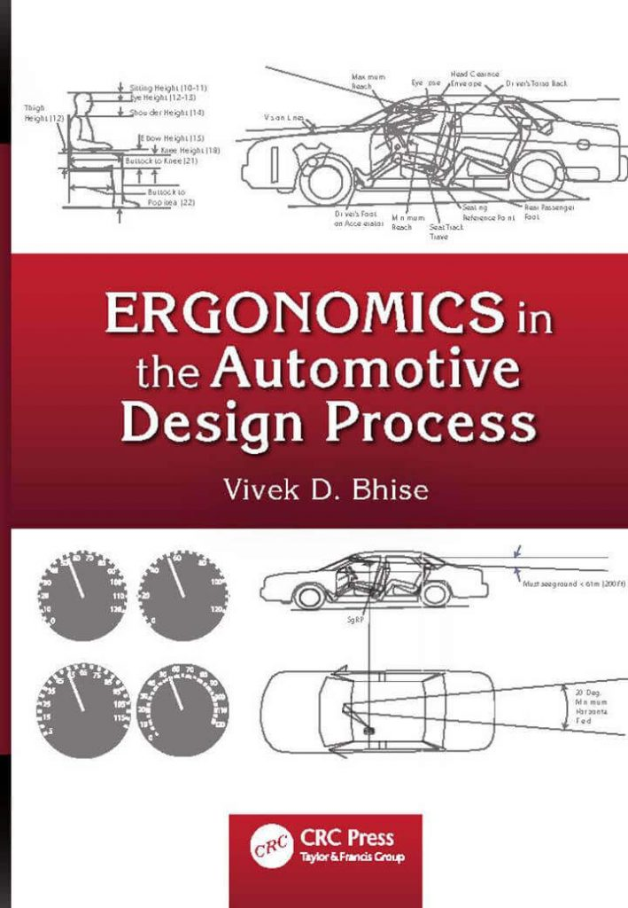 Ergonomics in the Automotive Design process pdf - Vivek D Bhise ebook of Automobile Engineering- Automotive