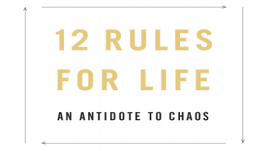 Photo of 12 rules for life